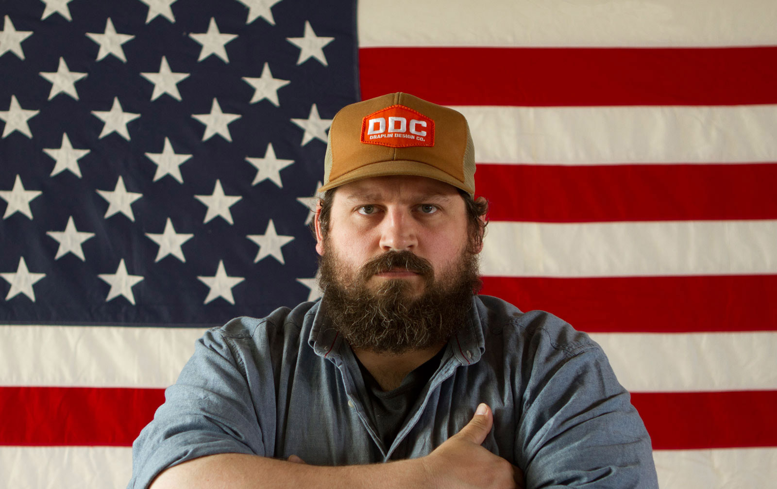 Photo By David Nakamoto For    The Great Discontent - Interview with Aaron Draplin