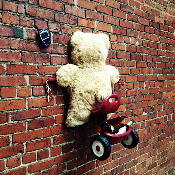 Boozy the Texting Bear
