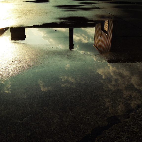 """  A Wet Puddle  ""  photography"