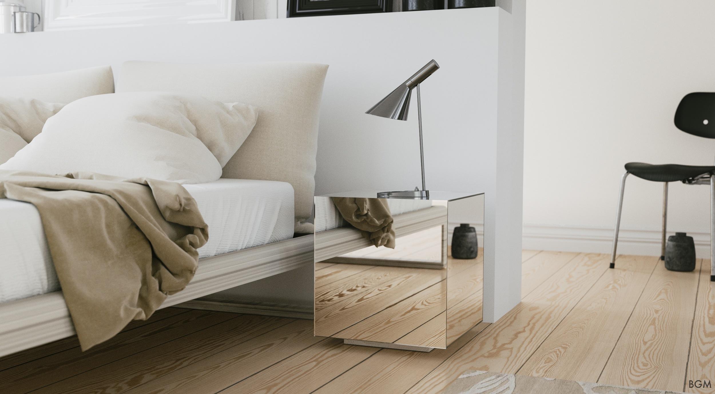 Mirrored Box by Birmingham Glass & Mirror