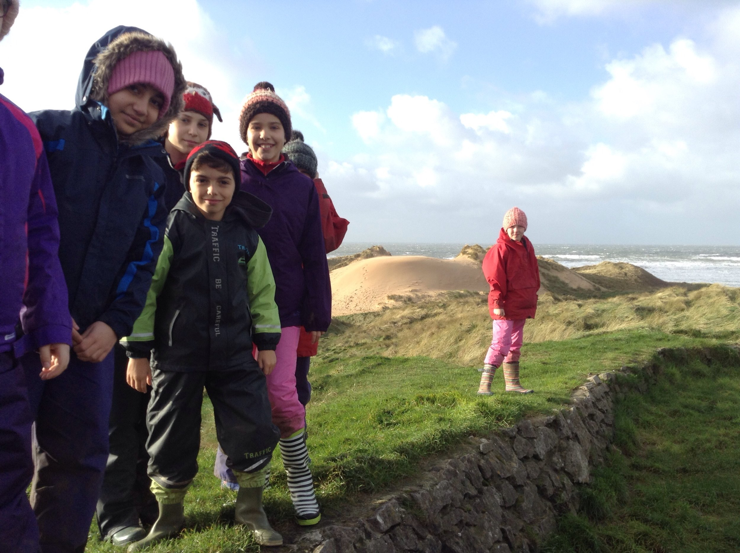 We arrive at Freshwater West!