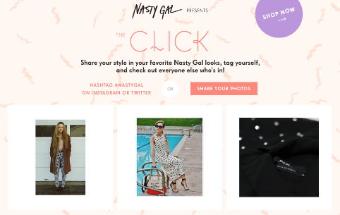 Nasty Gal's The Click