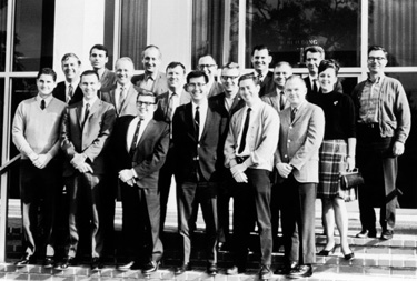 IAAAM founding members at the first meeting of the IAAAM in 1968.