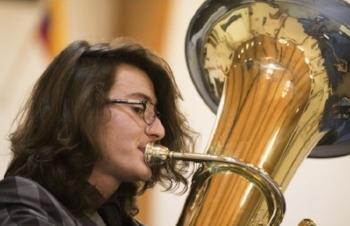 Max Yarrow, tuba