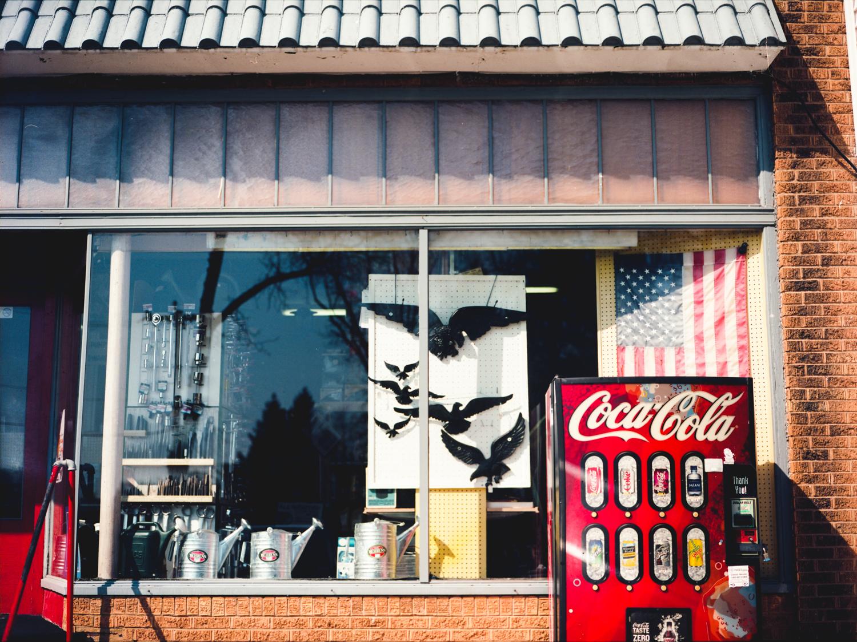 Mamiya 645 / Kodak endura  Window Shopping.