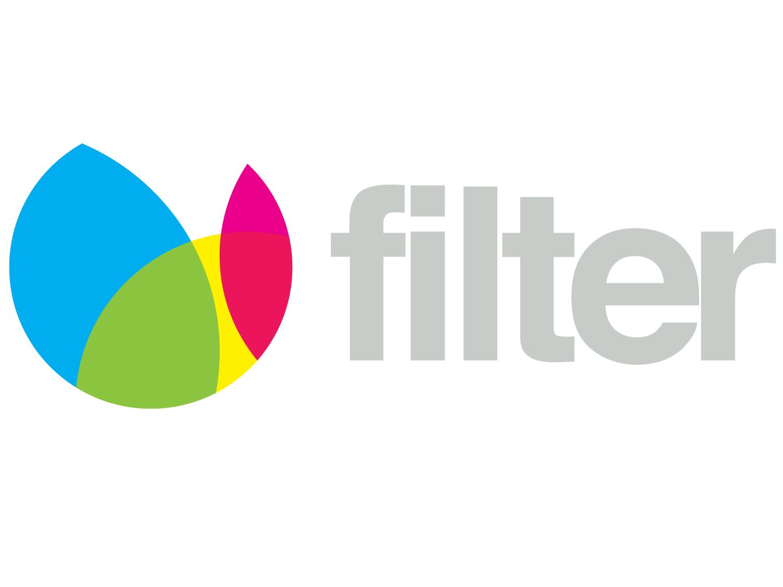 """filter"" Logo Design"
