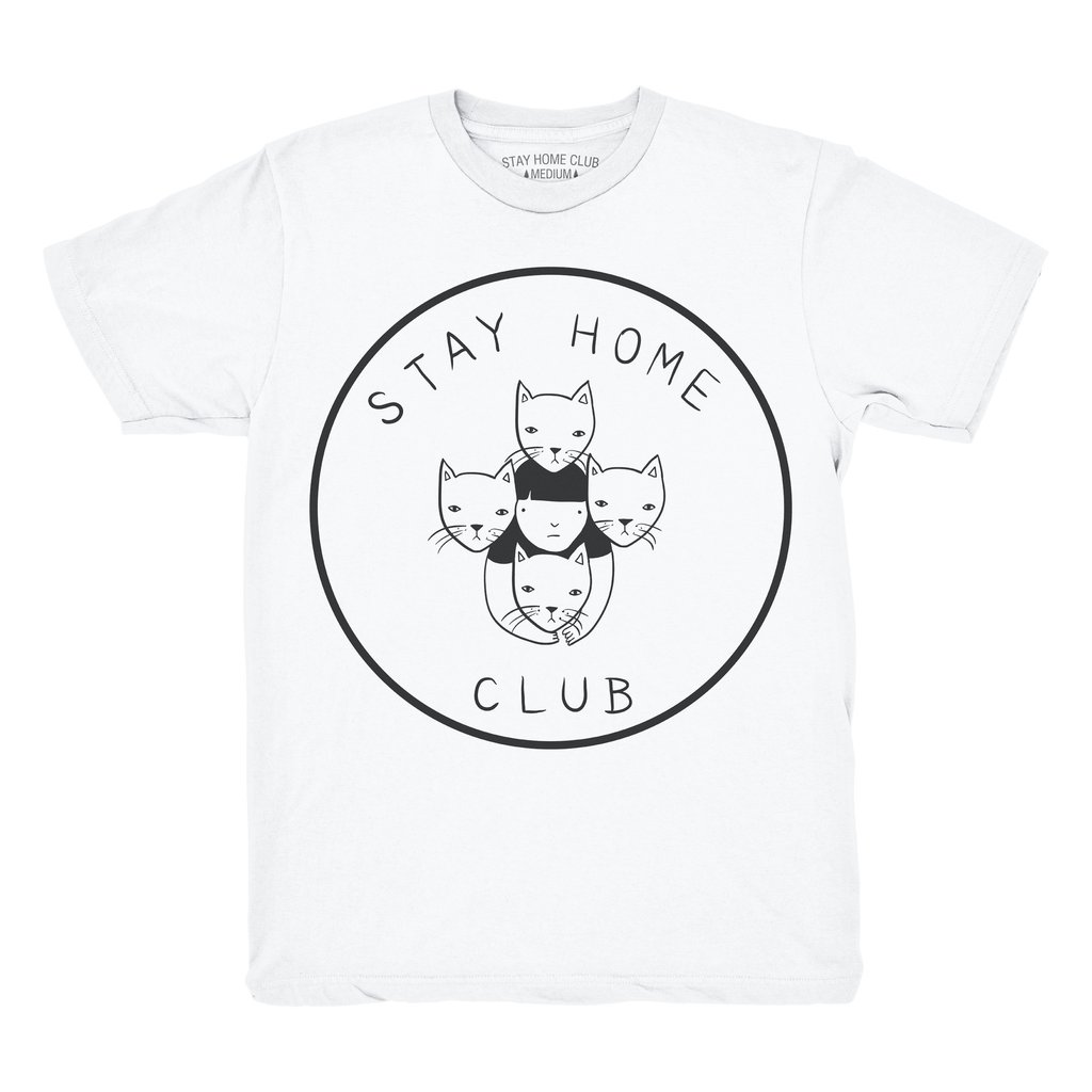 I love the  Stay Home Club  designs