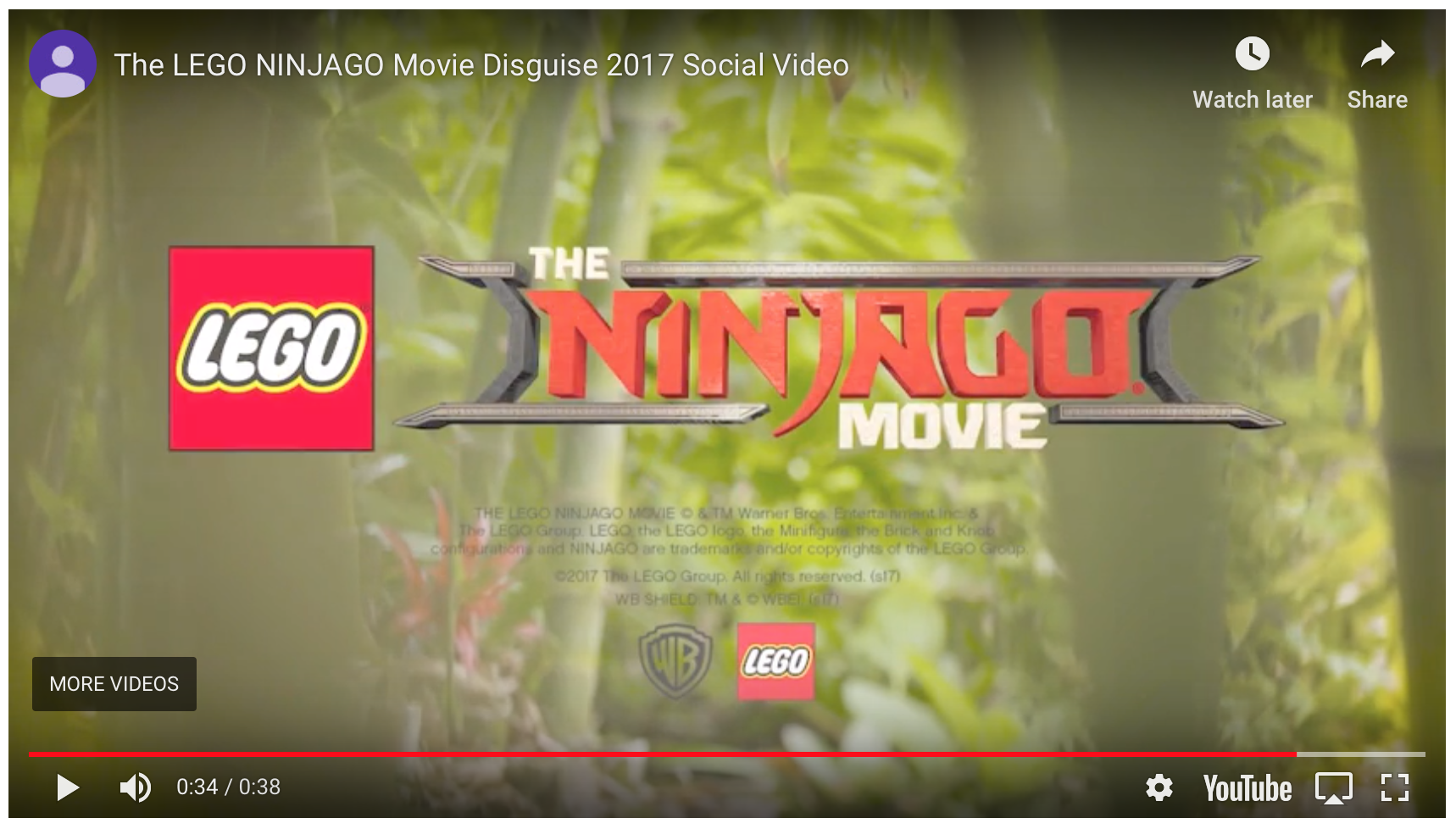 LEGO NINJAGO MOVIE -