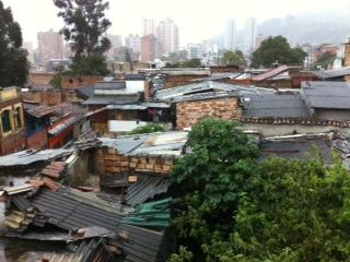 Rain, Bogotá, rain