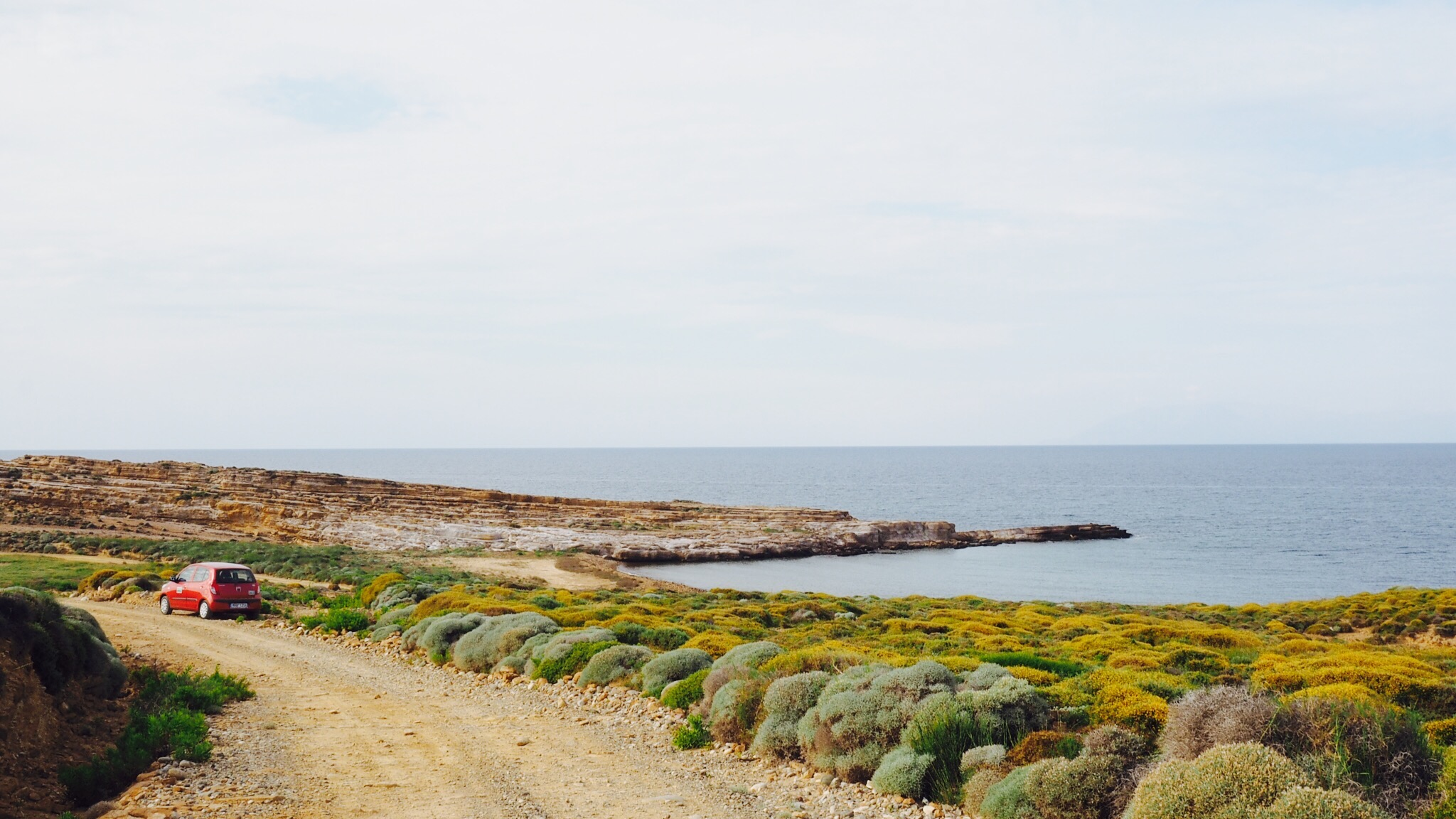 Frakolo Cape - surf spot, plus strange rock formation combo