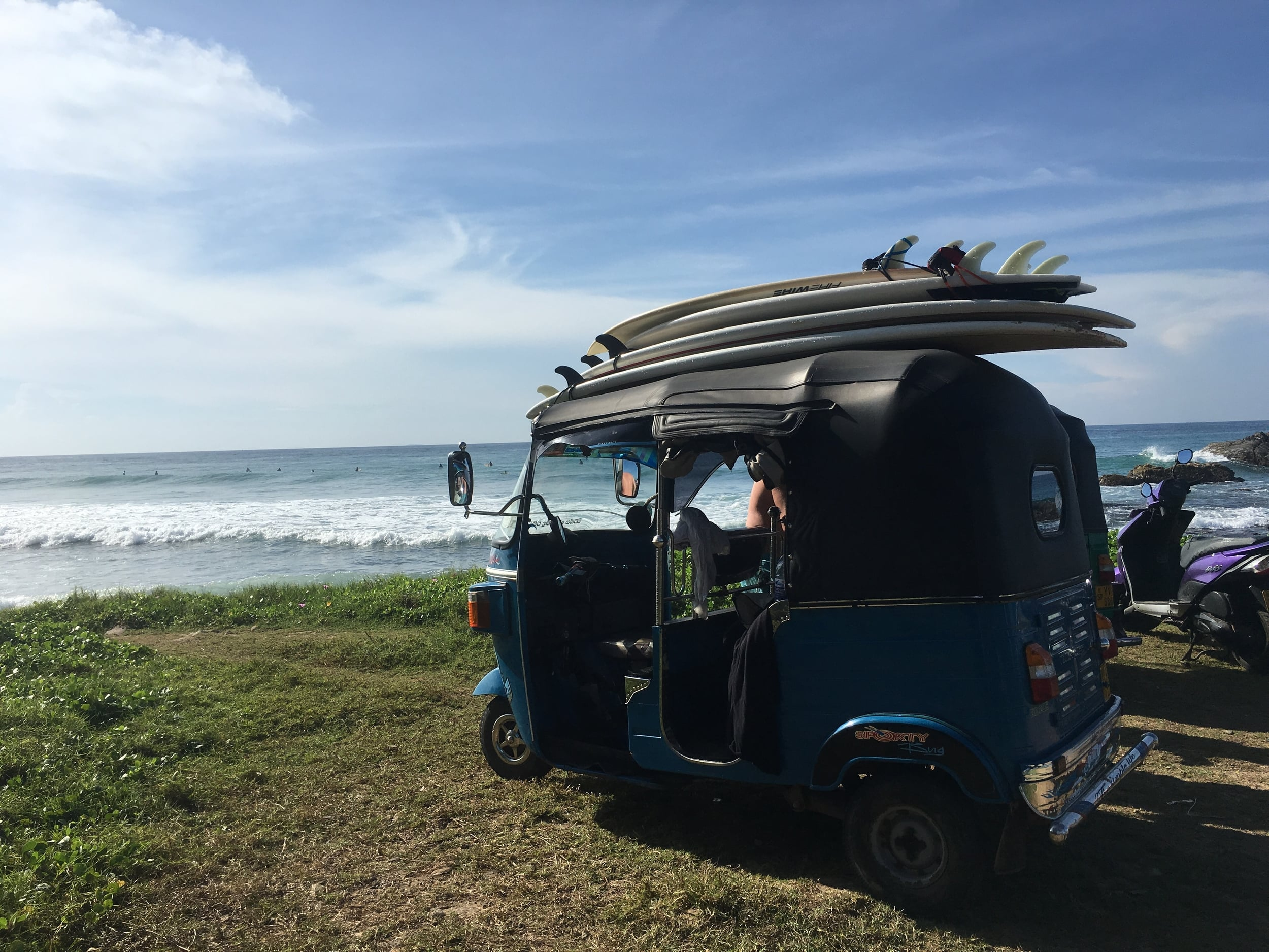 Crash course surf tuk tuk driving is exactly as terrifyingly adventurous as it sounds.