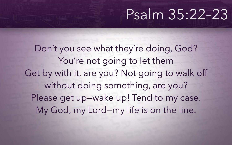 Psalm 3 — Living Faith Alliance Church