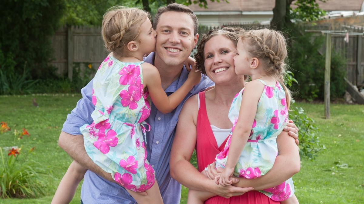 Caleb Howard and his family lead the NextGen Team at Living Faith.