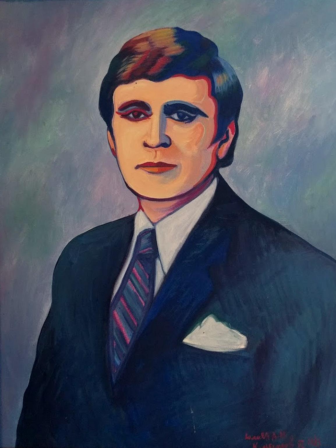 Self portrait by Julian Kolesar