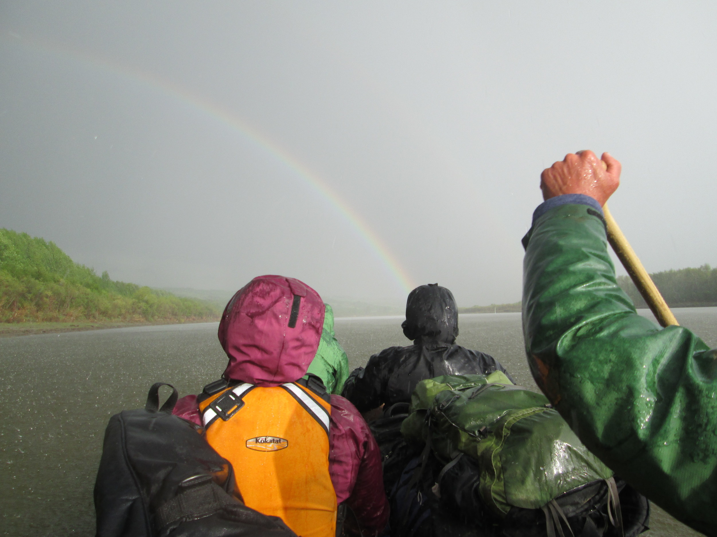 Let it rain...bow