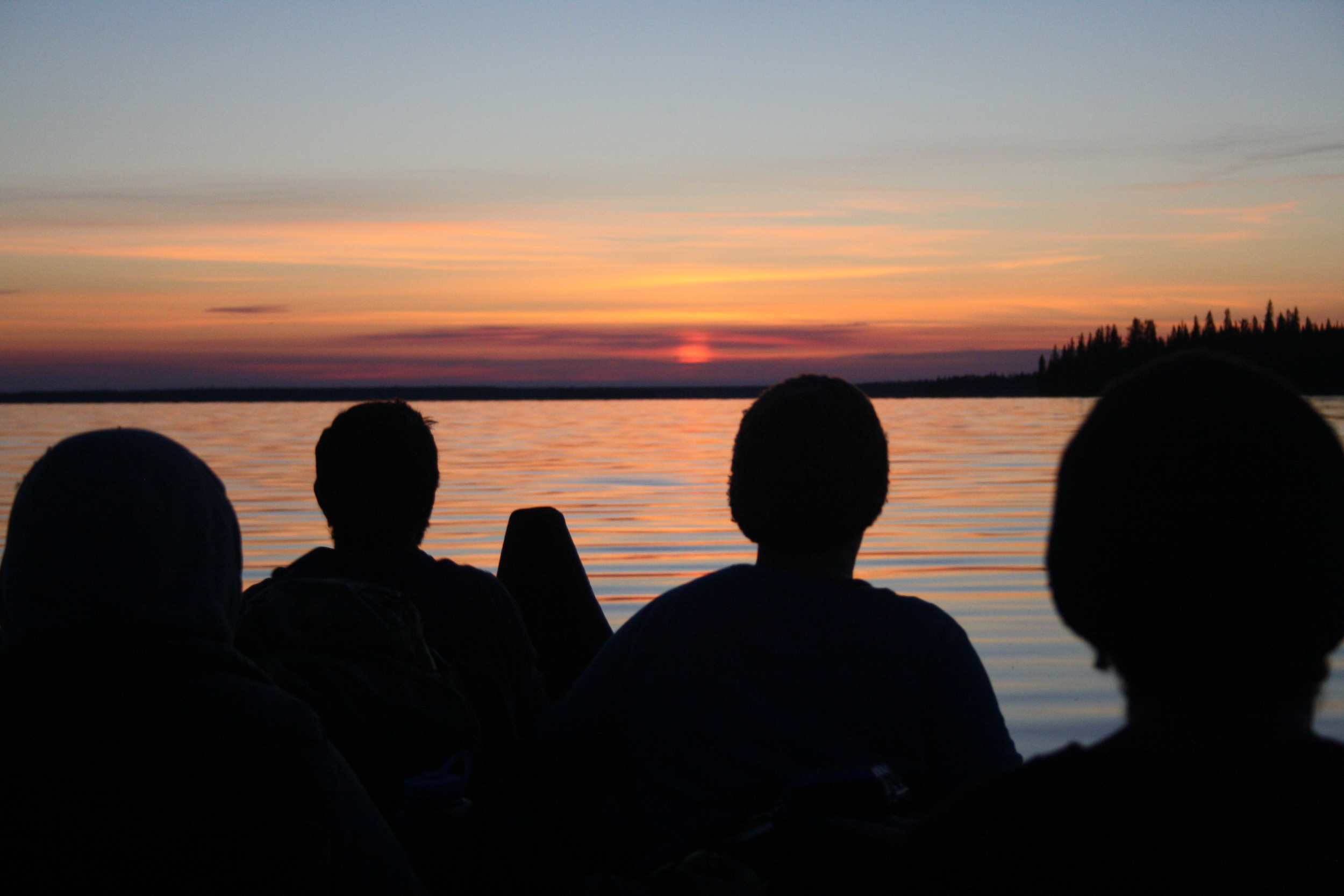 Sunrise on Cedar