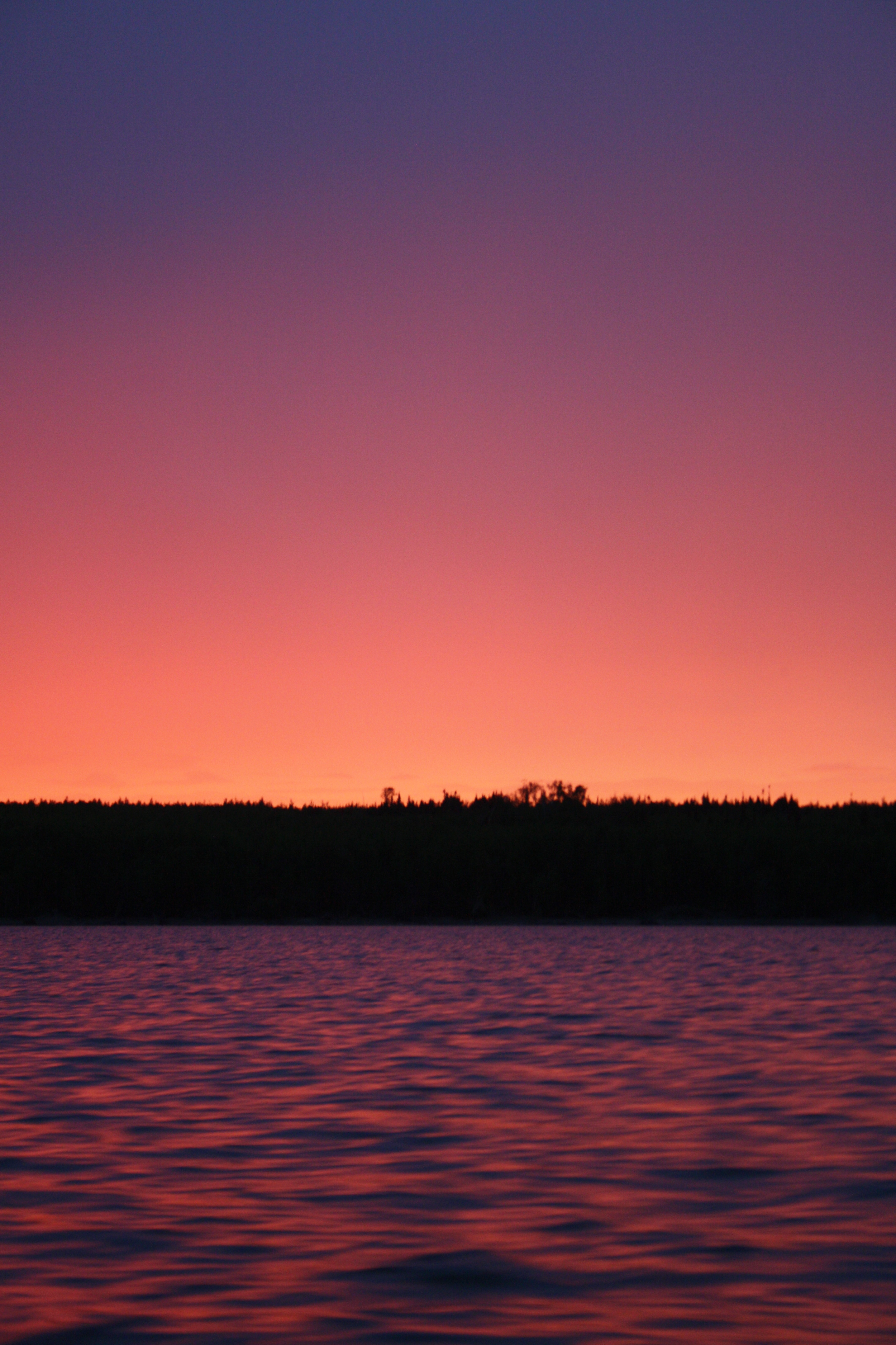 Sunset, Lake Winnipeg