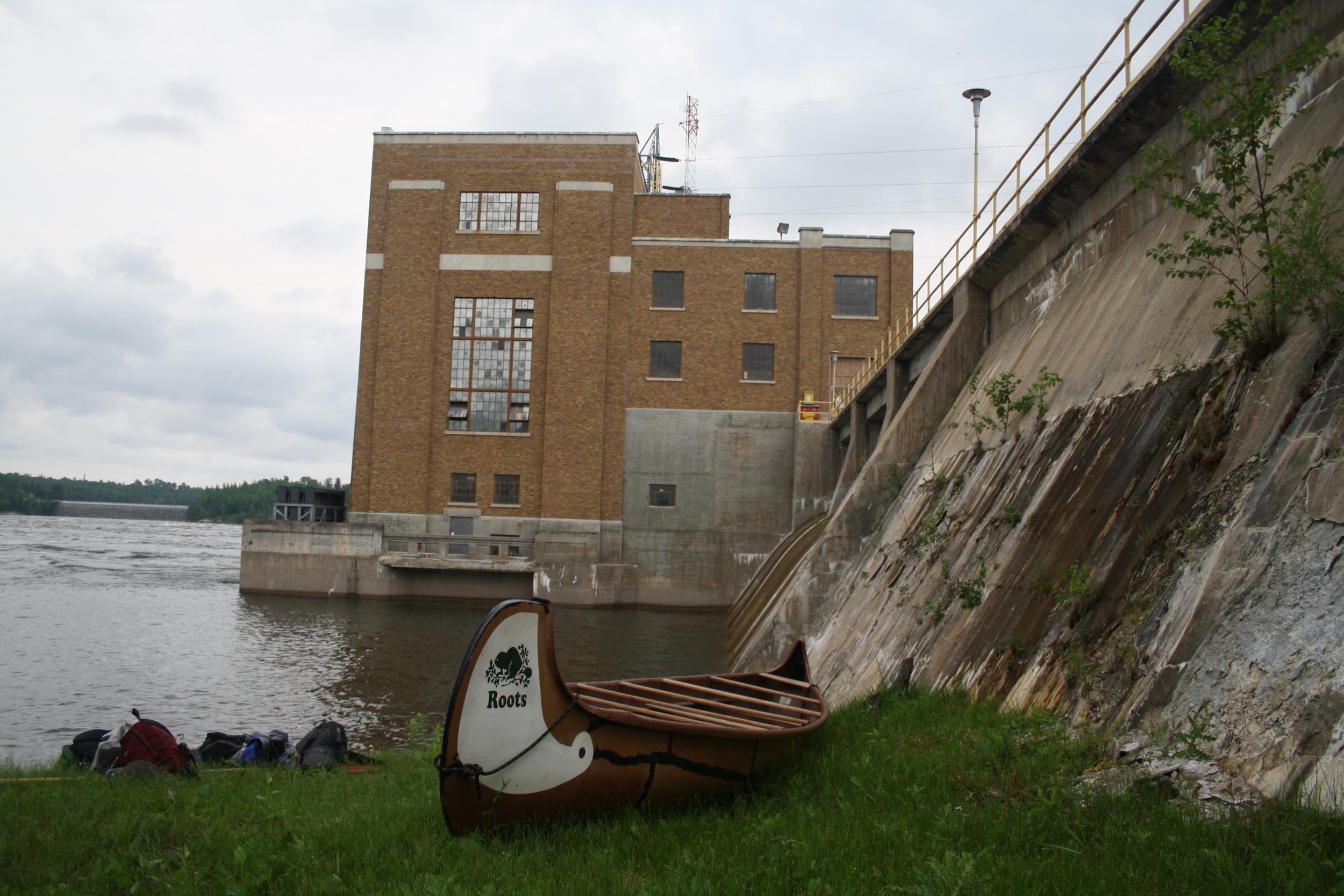 Pine Falls Dam
