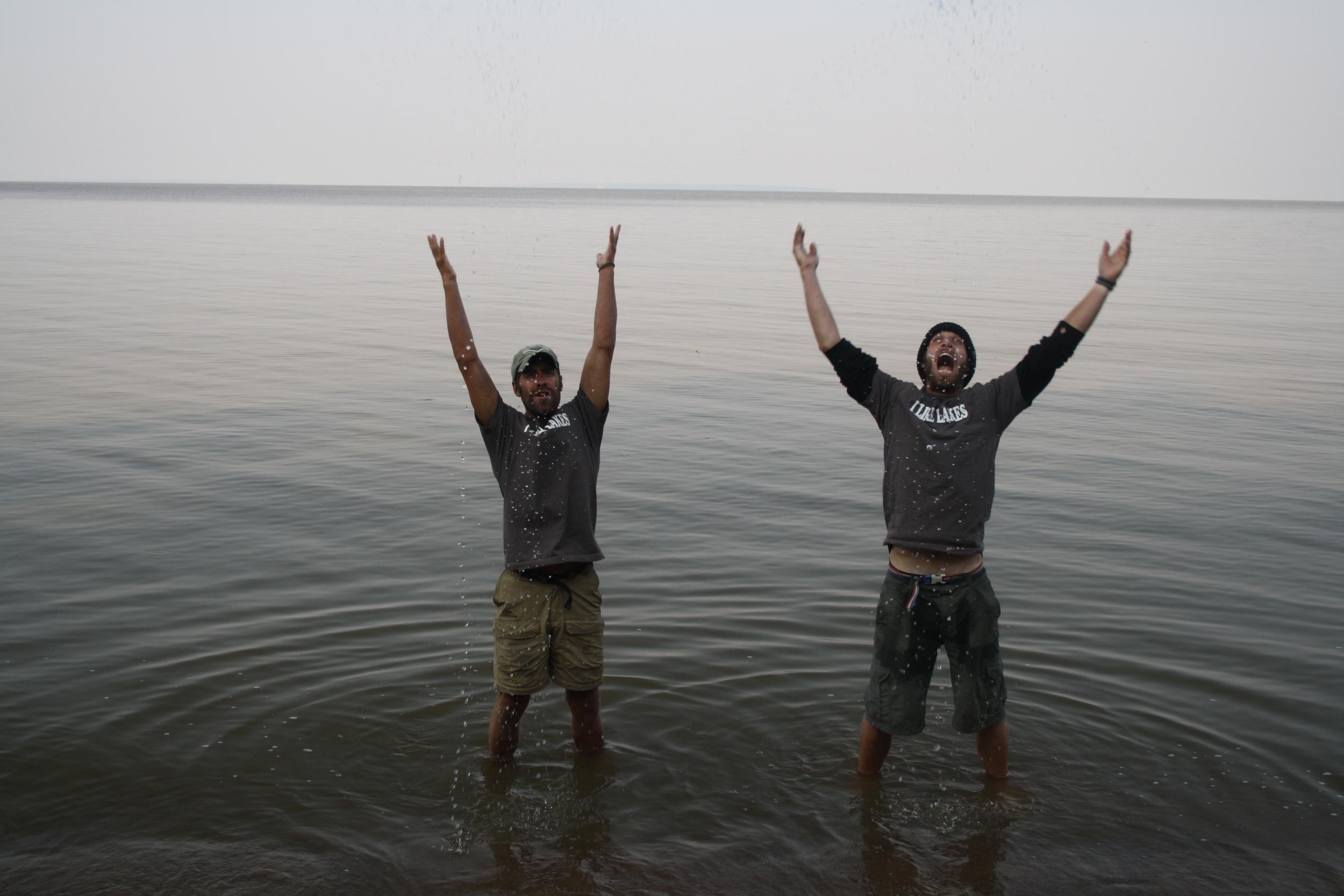 Last Day on Lake Winnipeg
