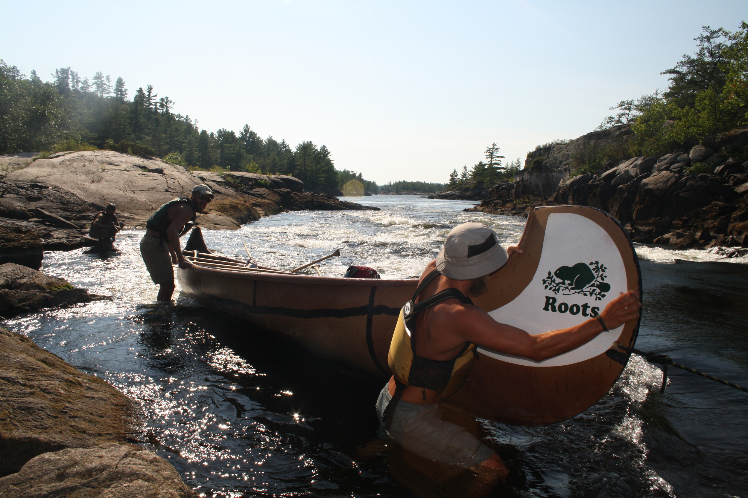 Upstream Lining- French River
