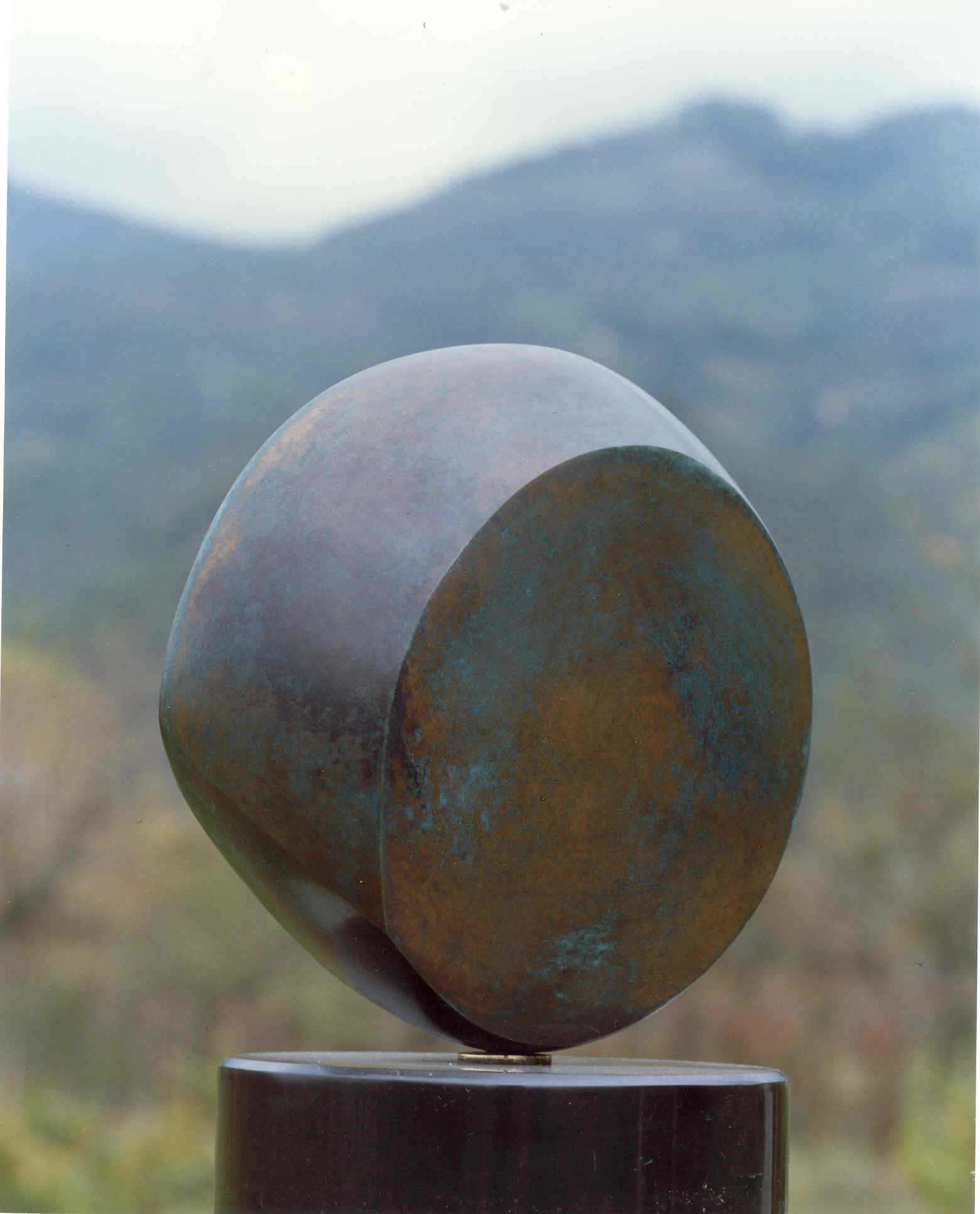 Abstract Bronze (Untitled)