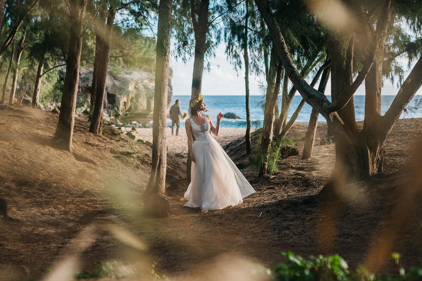 Katya & Richard, Poipu wedding