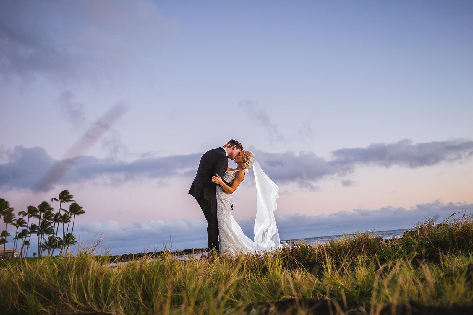 Gabriella & Eric, Poipu wedding