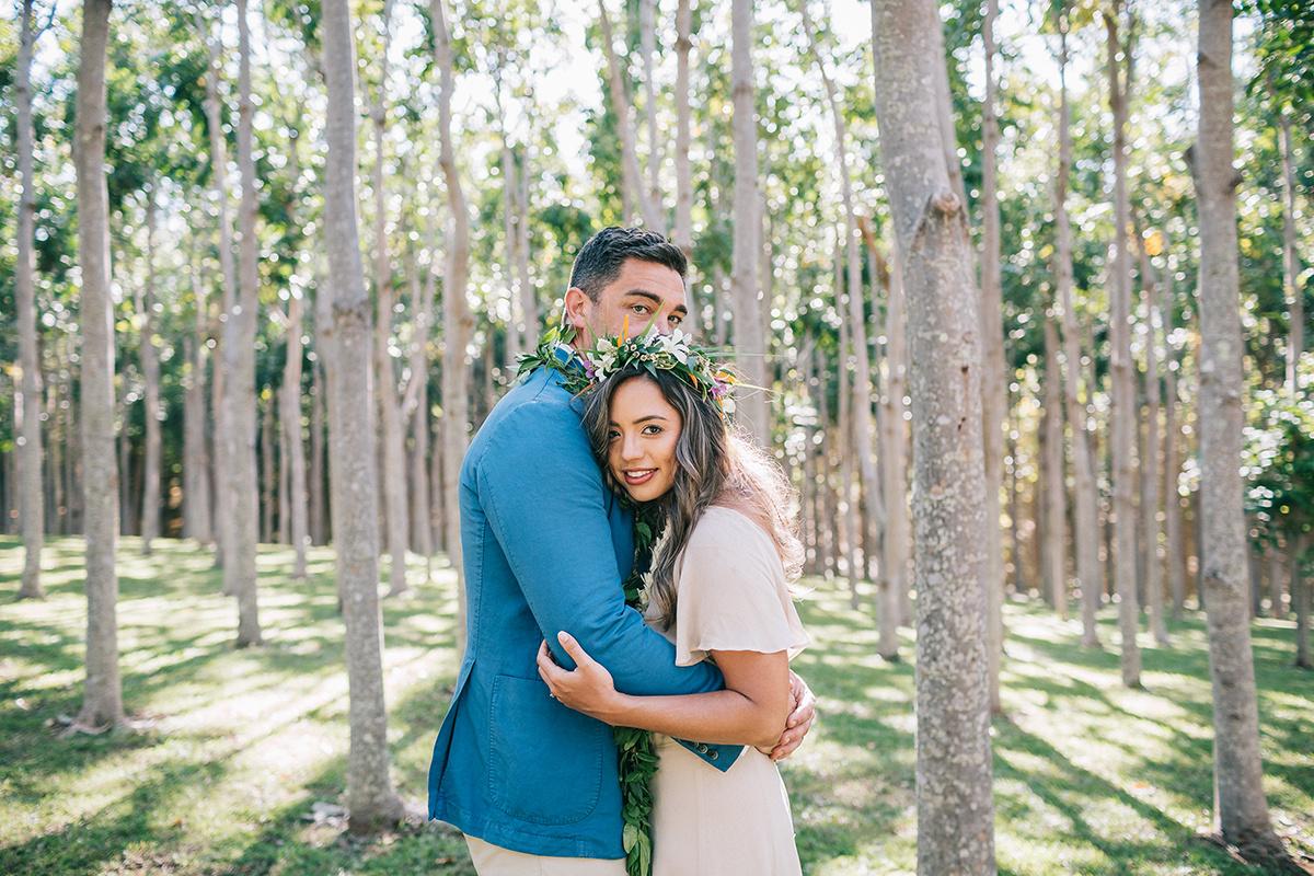 Sharla & Neil, Na'Aina Kai wedding
