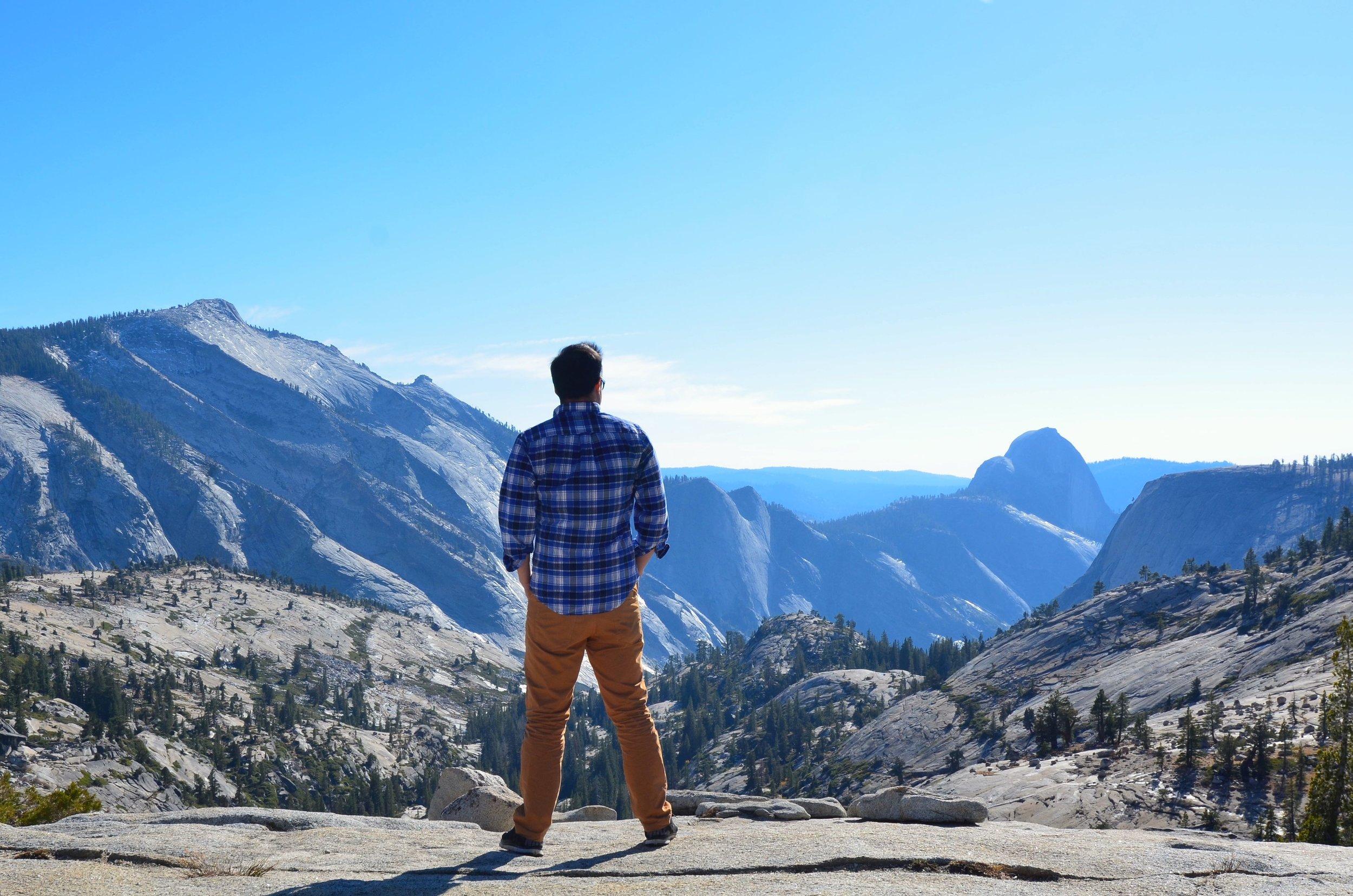 Climbing (figuratively speaking)= Peak Living. Yosemite, USA