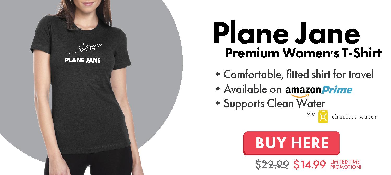 Plane Jane Travel T-Shirt