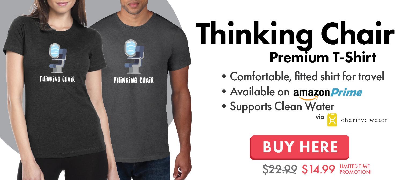Thinking Chair Travel T-Shirt