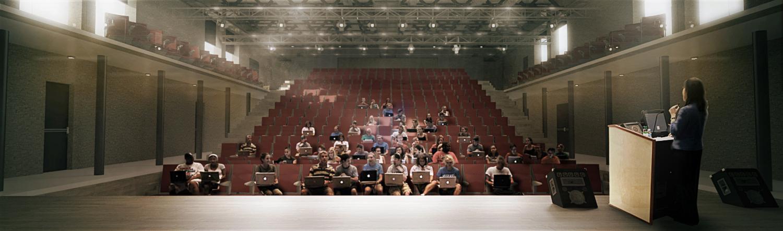 Tyndale University-  Auditorium Lecture Configuration