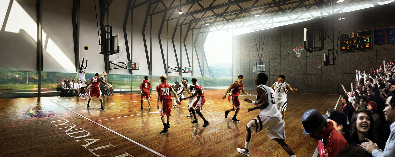 Tyndale University-  Gym Addition