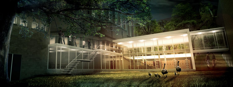 Tyndale University-  Library Addition