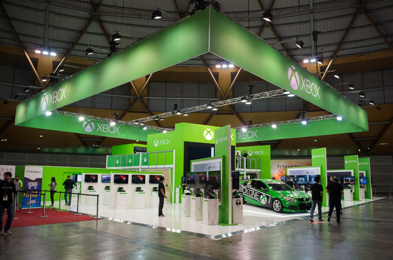 Xbox Stand - EB Expo 2013