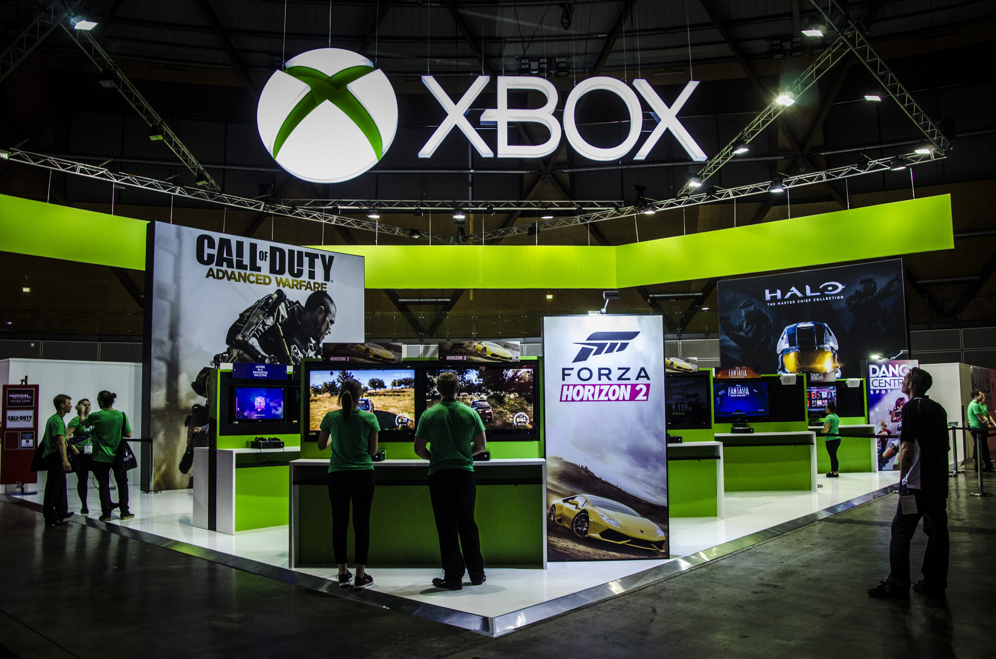 Xbox One Booth 2014