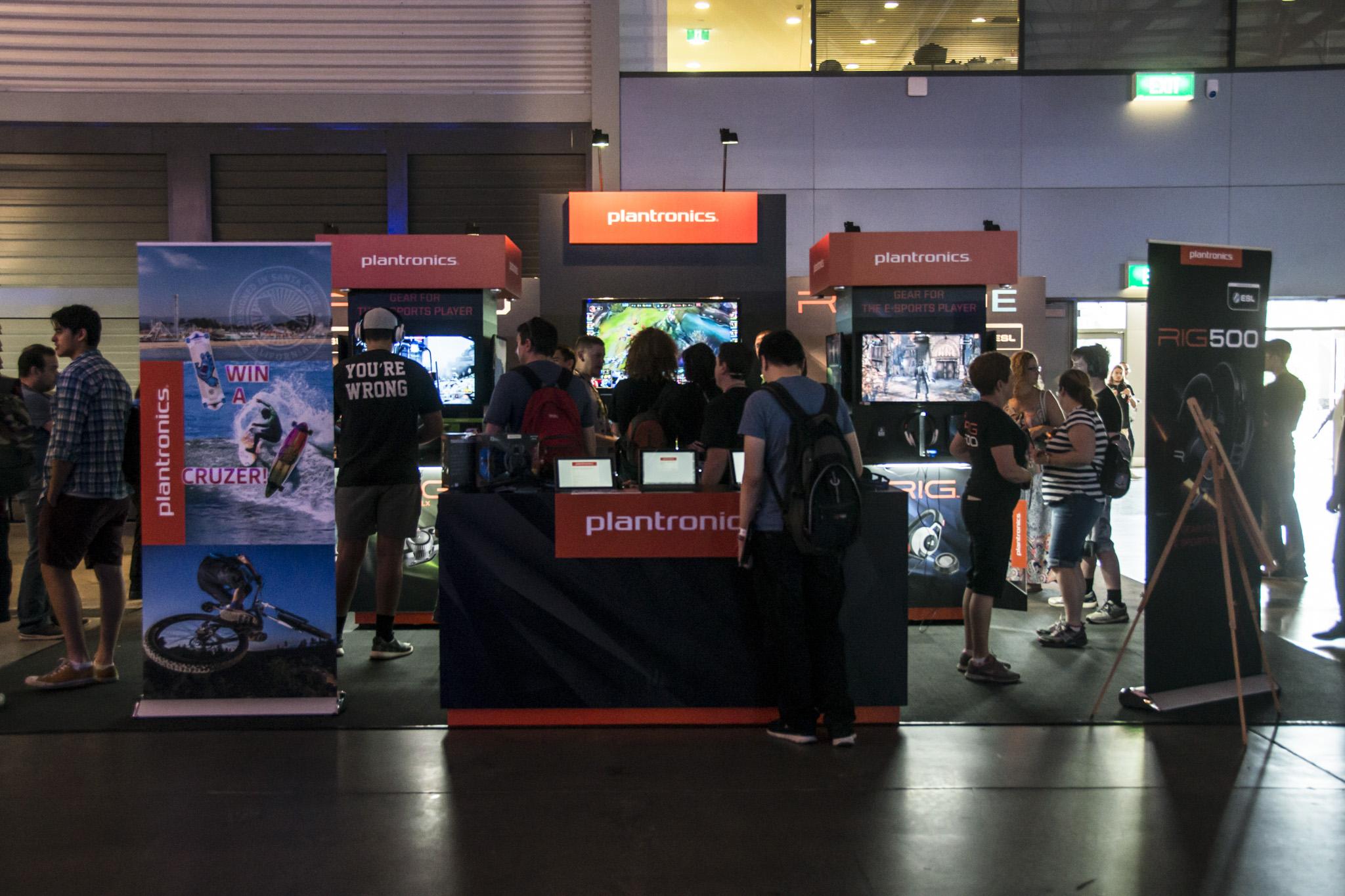 Plantronics Booth - 2015