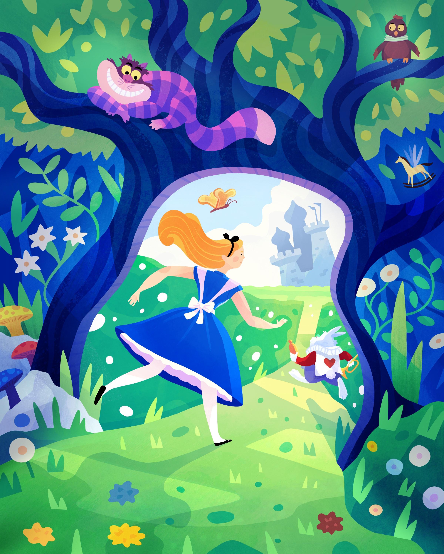 Alice in Wonderland by Jarom Vogel