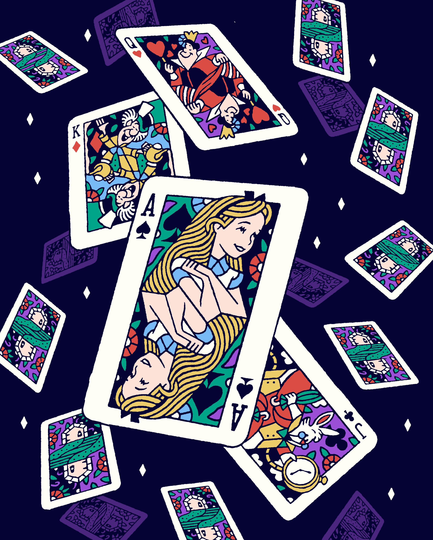 Alice in Wonderland by Joshua Noom