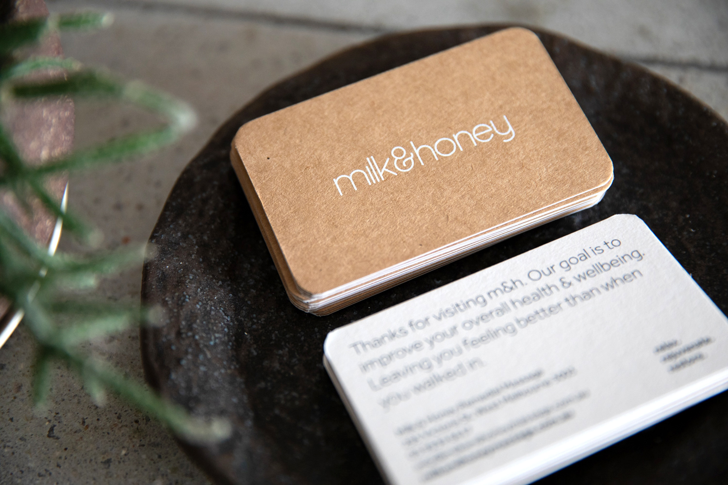 Milk & Honey Remedial Massage - – A refreshed identity for a modern clinic.
