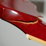 SG Broken Peghead Repair