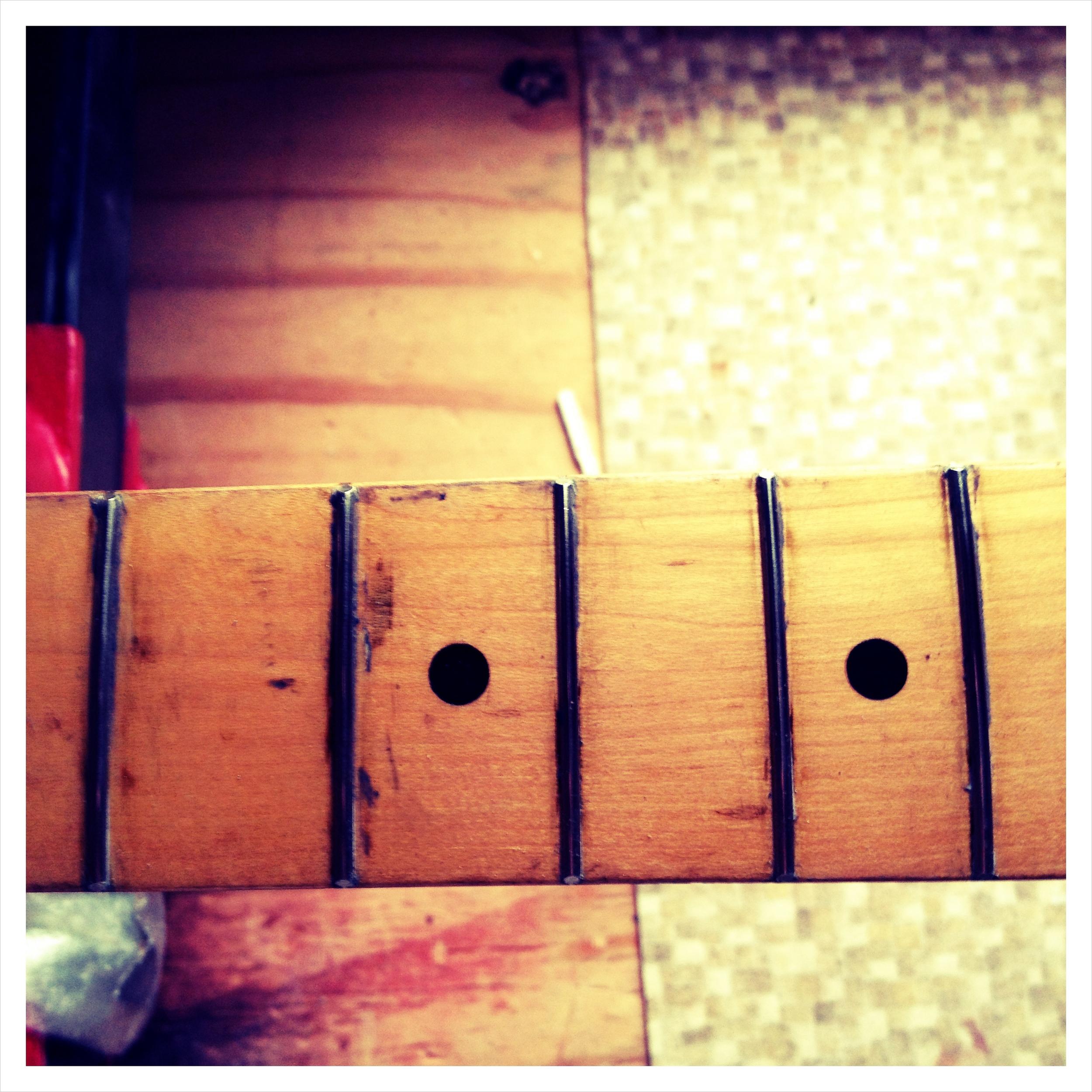 Fender Maple Neck Refret