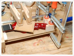 Fender-style neck repair