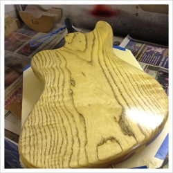 guitar finishing ireland
