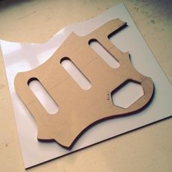 scratchplate custom cut