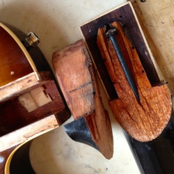 gibson guitar neck tenon repair