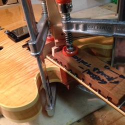 fix guitar neck joint
