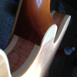 repair guitar tenon joint
