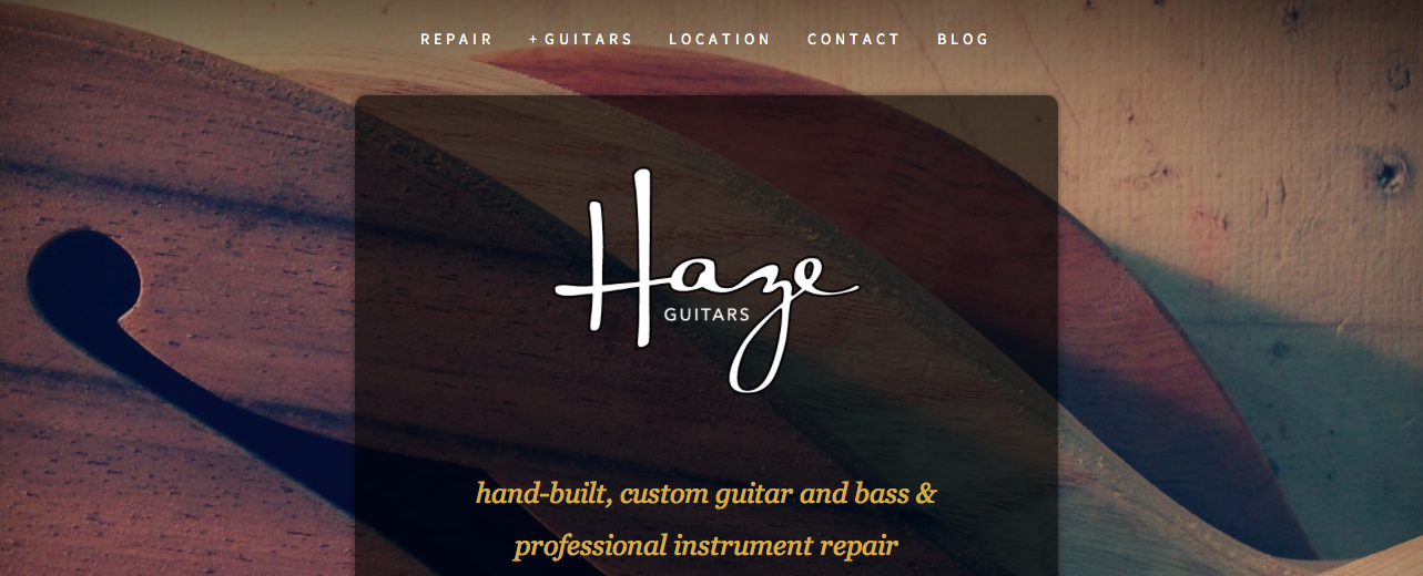Haze Guitars Instrument Repair, Dublin, Ireland