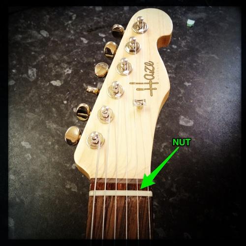 Guitar Hardware School: Nuts II - Compensated Nuts — Haze Guitars